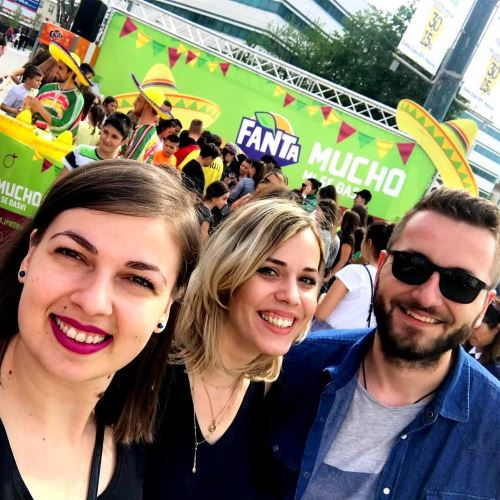 Aqua team at Fanta BiH sampling